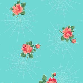 Dewdrops & Roses (Aqua)