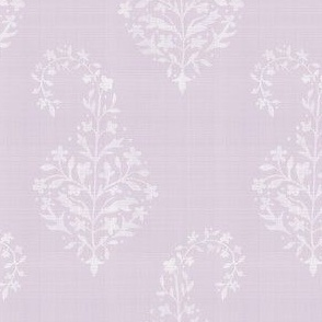 WOVEN Painted Paisley Lilac