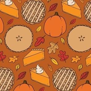 Pumpkin Pie (small scale)
