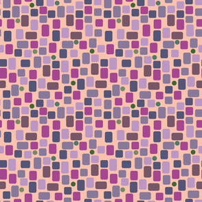 pink and violet irregular rectangles small