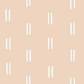hand drawn organic stripes striped lines fabric gift wrap wallpaper taupe light tan