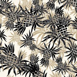 Hawaiian Pineapple Camo - Large Size- Neutral