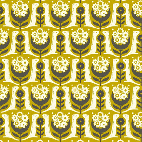 (Small Scale) 13 Lined Ground Squirrels in Gold
