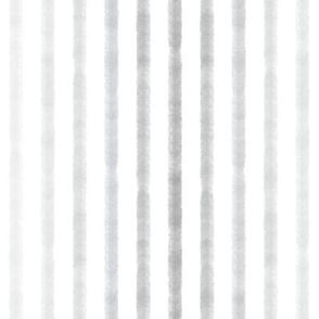 Watercolor Stripe - Grey
