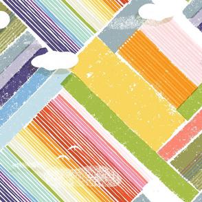 M+M Tulip Fields by Friztin