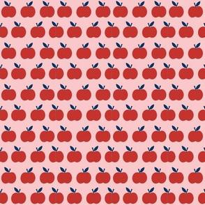 Mini School Apples in Red