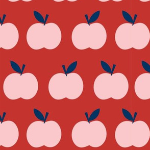 School Days Pink Apples
