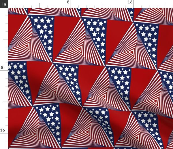 newest d3cdb a2a08 Fabric by the Yard Washington Nationals Stripes Stars Team Colors Baseball