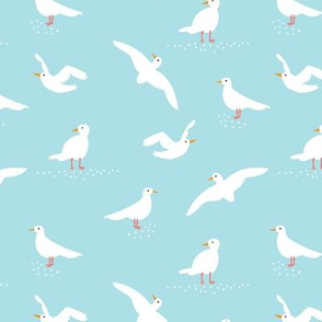 Blue Seagulls