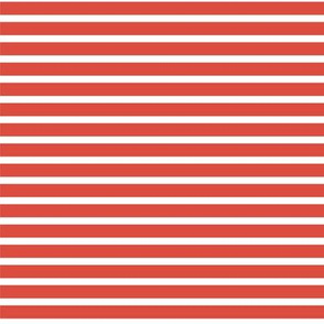 Thin Red Sailor Stripes