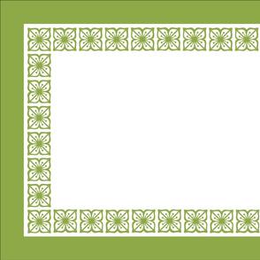 Tea Towel - Pyrex Verde Autumn Floral