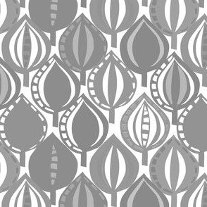 lino leaves grey