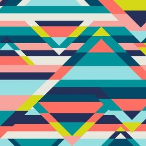 Broken Stripes - navy