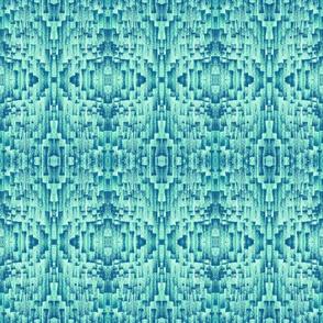 Brushstroke Weave Seafoam Green