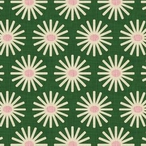firework green and pink