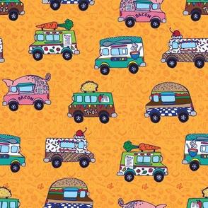 Food Trucks by artfulfreddy