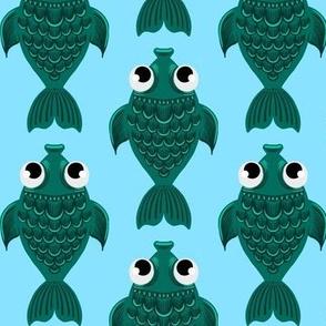Big Blue Fishies