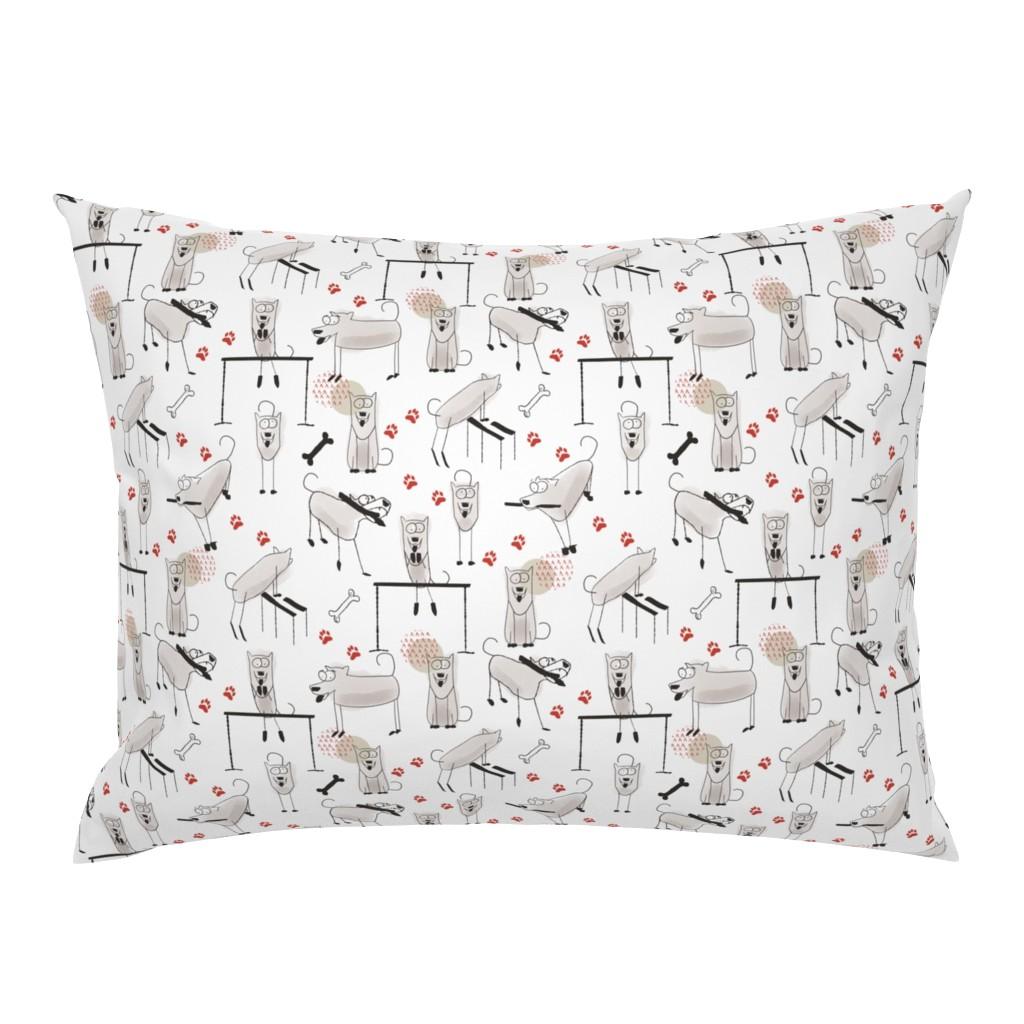 Campine Pillow Sham featuring Play, eat, repeat by Kreativkollektiv by friedlosundstreitsuechtig