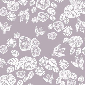 bee garden  // linocut fabric, interiors fabric, soft neutral fabric, neutral fabric, warm tones fabric
