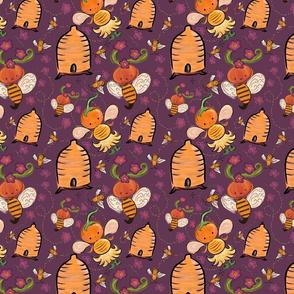 Boo Bee Apiary Purple