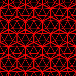 d20 black and red
