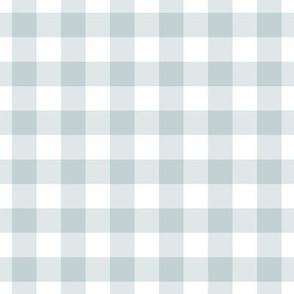 Blue grey gingham plaid check gift wrap fabric wallpaper blue gray
