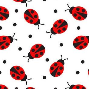 Ladybug (White)
