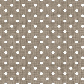 Faded French Spots - Brown