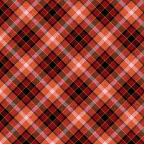 Custom  Russet Apple Plaid