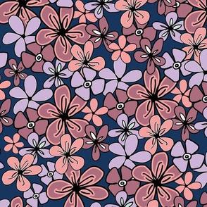Pantone2020 Navy Floral