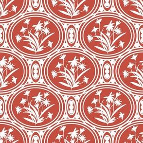 Rudbeckia Red White Geo-01