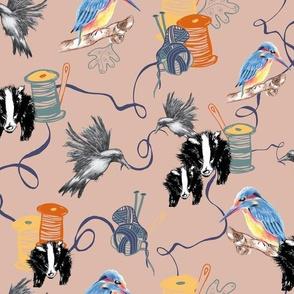 Cotton Reels & Kingfishers