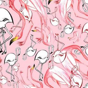 Flamingo Party - Pink