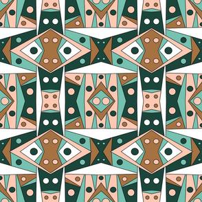 Tribal Style Minimal Color Palette