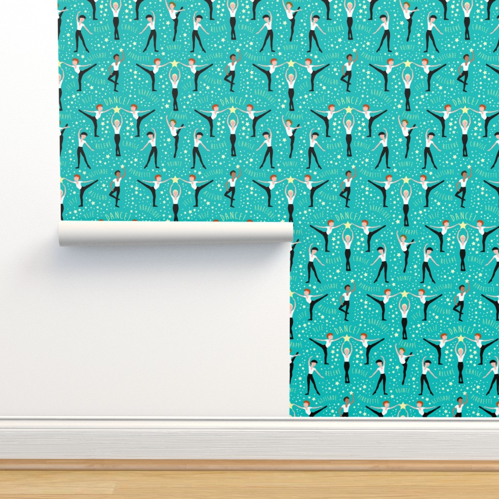 Isobar Durable Wallpaper featuring Boys Just Wanna DANCE! by emmbee-design
