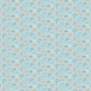 Flowers and Patatoes - small scale gray background-02