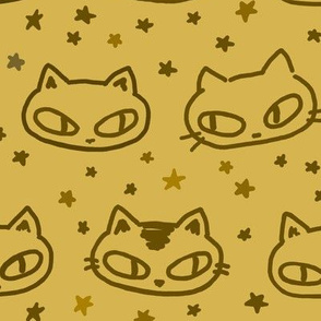 Kitties and Stars