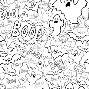 Halloween Spooky Boo