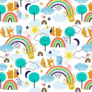 Adventure over the rainbow