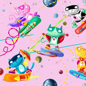 Wonderful Cat Games (pink)