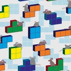 Tetris playing rat