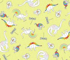 Dinosaurs Like Rainbows, Too!