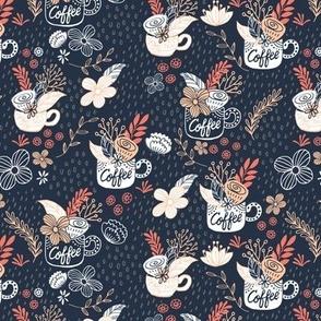 Coffee_ Tea _ Rain - Blue Coral