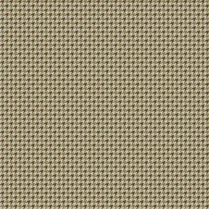 Houndstooth Stripe M Green Brown