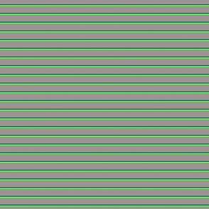 Skinny Stripe 3 S Green-Grey