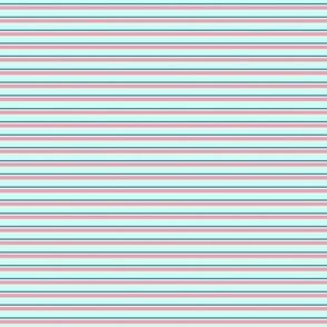 Skinny Stripe 4 S Mint-Pink