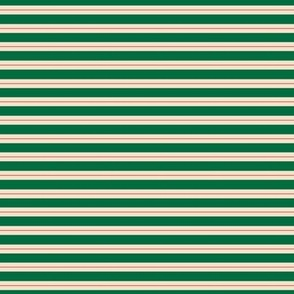 Skinny Stripe Centered S Green-Red