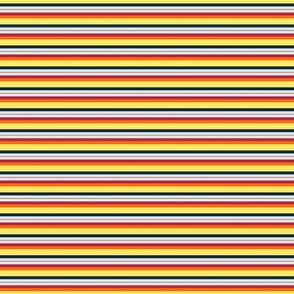 Mad Stripes M Yellow Red