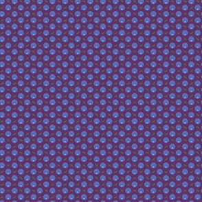 Berries Dot M Blue