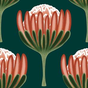 Art Deco Protea - Large Scale